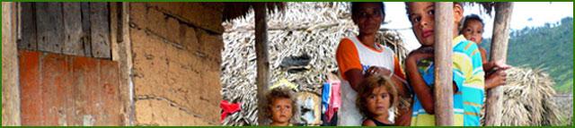 lavoratori rurali con bambini
