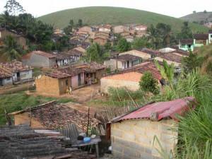 Una strada della zona chiamata Rua das Cassimbas in Joaquim Gomes
